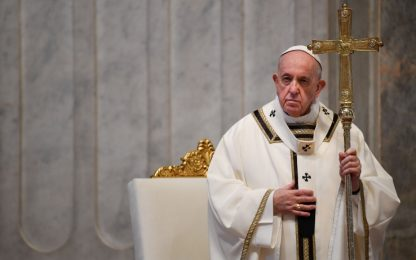 "Pasqua, Papa Francesco: ""Ue non sia egoista, dia prova di solidarietà"""
