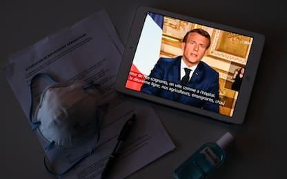 """Coronavirus, Macron: """"Confinamento prolungato fino all'11 maggio"""""""