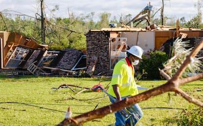 Stati Uniti, tornado devasta il Sud: almeno 32 morti. VIDEO