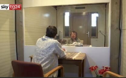 Coronavirus, in Olanda cabine prefabbricate per visite a parenti.VIDEO