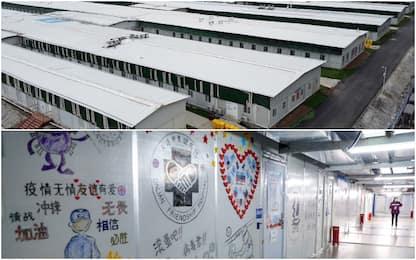 Coronavirus, a Wuhan chiude l'ospedale costruito in 10 giorni