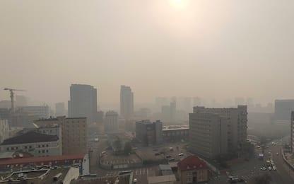 Incendio Chernobyl, Kiev raggiunta dal fumo. FOTO