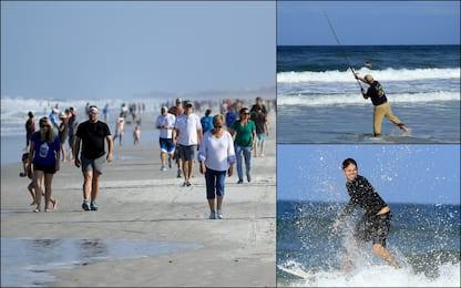 Coronavirus, la Florida riapre le spiagge. FOTO