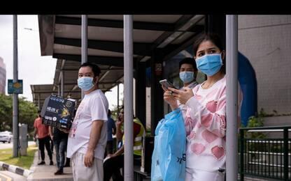 Coronavirus: boom casi a Singapore, 1.426 in un giorno. FOTO