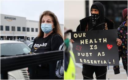"""Coronavirus Usa, sciopero dei lavoratori Amazon: condizioni """"insane"""""""