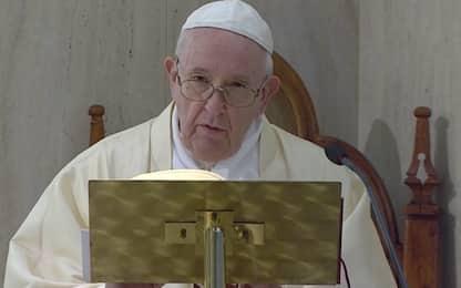 """Papa Francesco invoca Santa Caterina e chiede """"unità dell'Europa"""""""