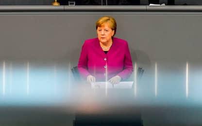 "Coronavirus, Merkel: ""Senza solidarietà non c'è Europa """