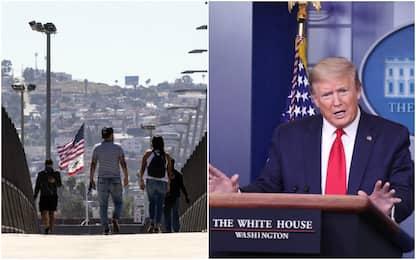 Coronavirus Usa, Trump firma stop all'immigrazione: green card sospese