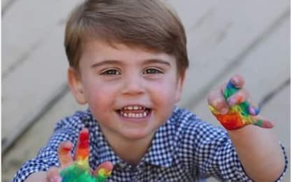 Coronavirus, compleanno in lockdown per il Principe Louis. FOTO