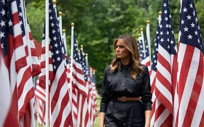 Melania Trump, fotostoria della First Lady