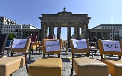Coronavirus, in Germania protesta dei ristoratori. FOTO