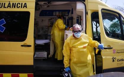 Coronavirus, in Spagna 378 i decessi nelle ultime 24 ore