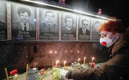 Chernobyl 34 anni dopo, commemorazione vittime. FOTO