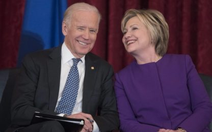 "Usa 2020, Hillary Clinton: ""Serve un presidente come Biden"""