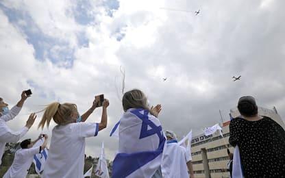 Coronavirus, Israele celebra Giorno dell'Indipendenza. FOTO