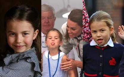 Royal Family, la principessa Charlotte compie 5 anni. FOTO