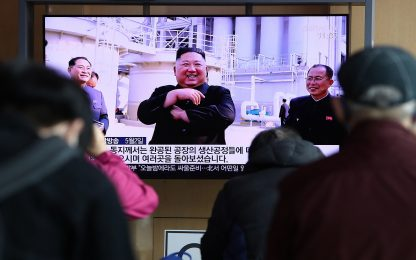KimKim Jong-un riappare in pubblico