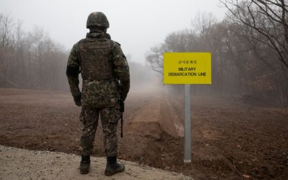Coree, colpi di arma da fuoco tra Corea Nord e Sud: nessun danno