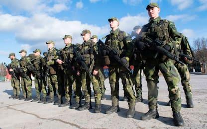 La Svezia, preoccupata dalla Russia, ripristina il servizio di leva