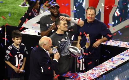 Primo Super Bowl dell'era Trump: trionfano i Patriots