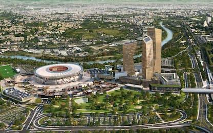 Stadio Roma: il Campidoglio verso un nuovo progetto e revoca vecchio