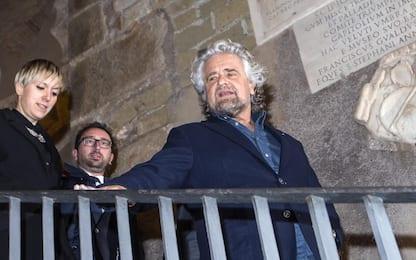 """Grillo a Roma: """"Se lo stadio si farà sentiremo prima la popolazione"""""""