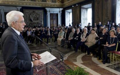 Mattarella: diritto alla salute attiene a dignità e libertà