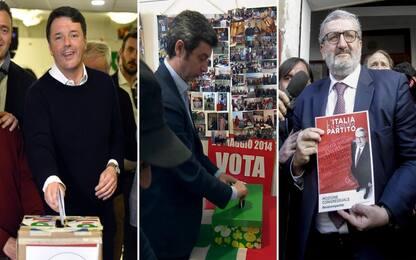Pd, voto mozioni: Renzi circa al 68%, Emiliano ancora in corsa