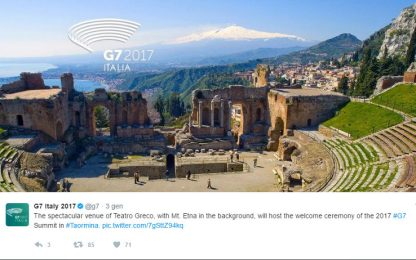 G7, il 26 e 27 maggio il vertice a Taormina: quello che c'è da sapere<br>