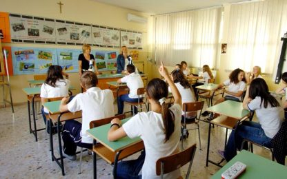 Scuola, trovata intesa nel governo: in arrivo 52mila nuove assunzioni