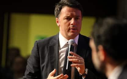"""Tetto al deficit, Renzi: """"Con Ue film già visto, vinceremo partita"""""""