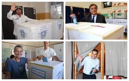 Comunali: i candidati sindaci alle urne