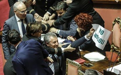 """Ius soli, caos  al Senato. Fedeli in infermeria, Pd: """"E' stata spinta"""""""