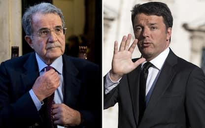"""Tensione nel centrosinistra, Prodi a Renzi: """"Spostarmi? Lo farò"""""""