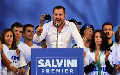 Lega, Salvini a Pontida: daremo mano libera alle forze dell'ordine
