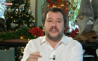 """Salvini a Sky TG24: """"Non cerco voti di skinhead, problemi sono altri"""""""