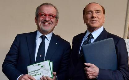 """Berlusconi: """"Maroni in un governo di centrodestra? Lo escludo"""""""