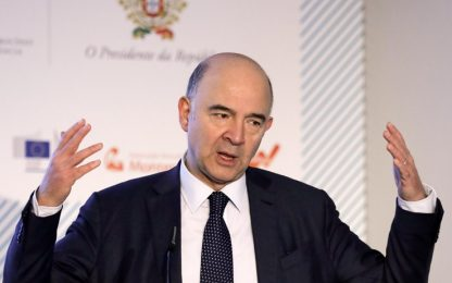 """Moscovici: """"Il voto in Italia un rischio politico per l'Europa"""""""