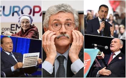 Elezioni: tra annunci e gaffe, il  meglio e il peggio della settimana