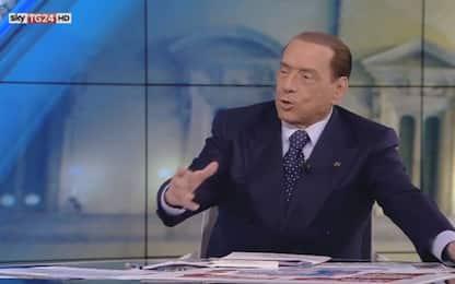 """Berlusconi a Sky TG24: """"Con noi al governo molte donne ministre"""""""