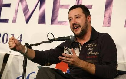 """Salvini: """"Pazienza al limite, governo in fretta o al voto"""""""