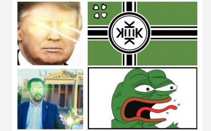 Elezioni e meme, tra goliardia e razzismo