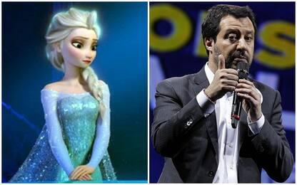 """Salvini: """"Elsa di Frozen non deve diventare lesbica"""""""