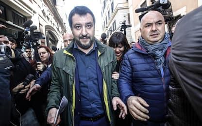 """Salvini: """"Governo con M5S? Mai con il Pd, il resto è possibile"""""""