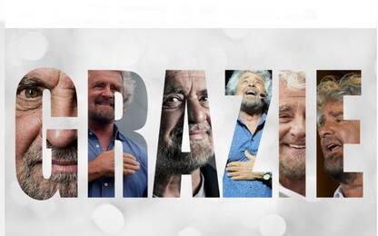"""Beppe Grillo sul blog: """"Io non mollo. Sarò sempre la vostra voce"""""""