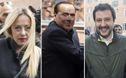 "Centrodestra: ""A noi Senato, a M5s Camera"". 5 Stelle: no a indagati"