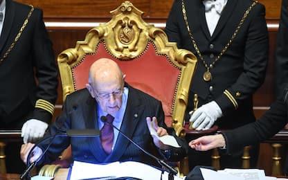 Nuovo Parlamento: senatrice ritarda, Napolitano la rimprovera. VIDEO