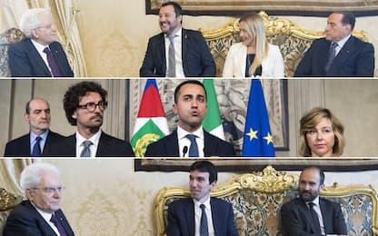 Consultazioni, Mattarella: governo neutrale fino a dicembre o voto