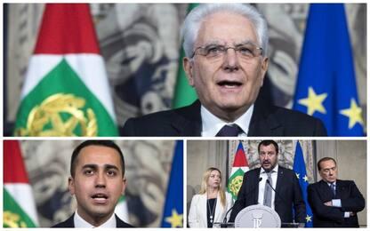 Governo, Mattarella per esecutivo neutrale. M5s e Lega chiedono voto