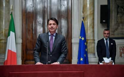 """Governo, consultazioni di Conte: """"I ministri saranno tutti politici"""""""